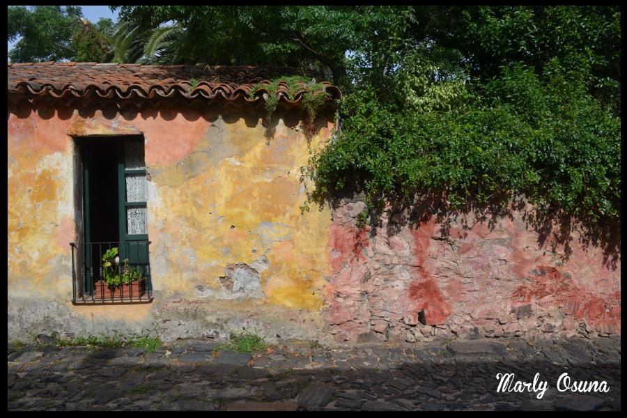 Casas coloniales de estilo portugués ubicadas en la Calle de Los Suspiros